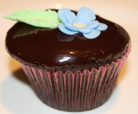 Grandma Garretson's Chocolate Cake in Cupcake Form