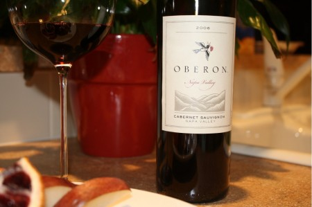 Wine of the Evening - Oberon