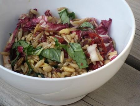 Orzo Salad With Radicchio