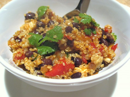 Quinoa Salad with Black Beans