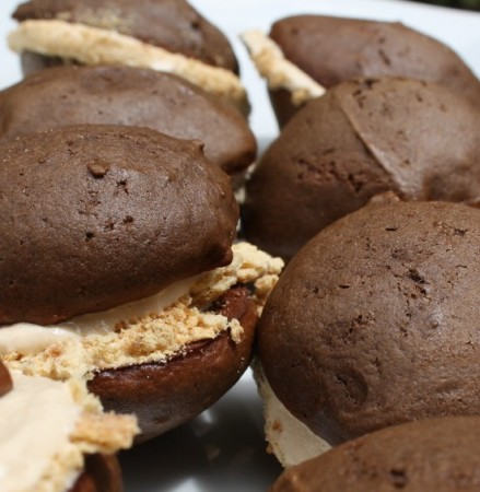 Introducing the S'mores Whoopie Pie...