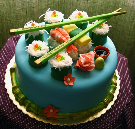 Sushi Cake by Whipped Bake Shop