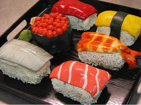 Sushi Cupcakes by Debbie Does Cake