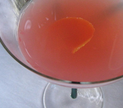 The Grapefruit Martini