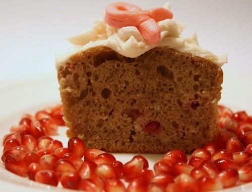 Breast Cancer Awareness Cupcake