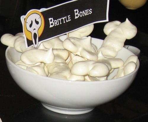 Crispy, crunchy, brittle bones