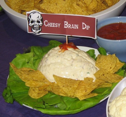 Halloween Brain Dip Recipes — Dishmaps