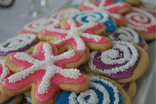 Colorful, Festive Sugar Cookies