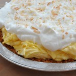 Coconut Cream Pie made with Dream Whip