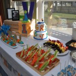 Kids First Birthday Party Food Table